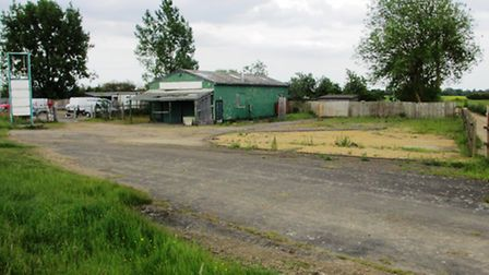 The workshop and yard, in Stretham.