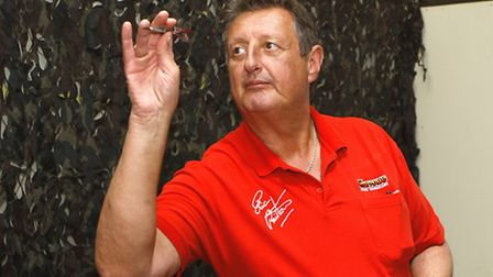 Players can test themselves against five-time world darts champion Eric Bristow.