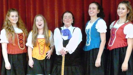 Members of Littleport Players are taking to the stage for their pantomime, Red Riding Hood.