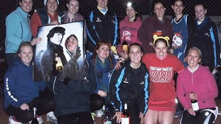 City of Ely Netball Club raised more than £70 for Children in Need