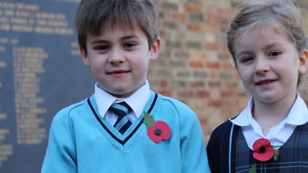 Ely Remembrance service.