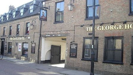 The George Hotel in Chatteris.