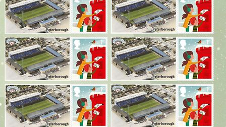 Peterborough football fans can have their own Christmas stamps this year