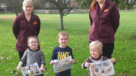 Maple Grove colouring competition winners