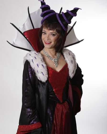 Sue Holderness plays the Wicked Queen in this year's pantomime.