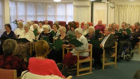 Members of Just Sing at Wisbech