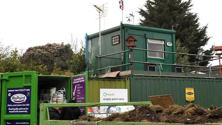 Wisbech recycling centre is used by 150 respondents.