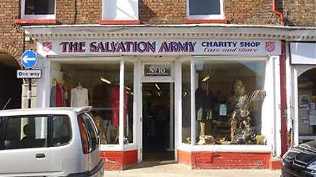Salvation Army Shop in Wisbech