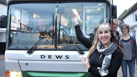 The launch of ZIPPER, the new bus service. Britni-May Edwards, who helped name the service. Picture: