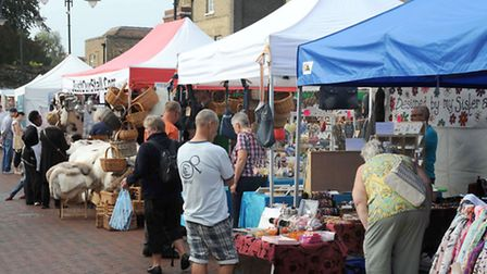 Ely Market. Picture: Rob Morris