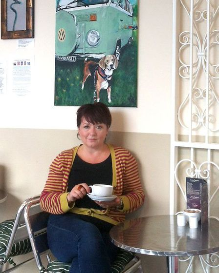 Local Artist Michelle Deyna-Hayward has had an exhibition of some of her work,