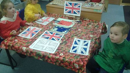 British Day at Kingsfield Primary
