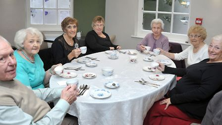 Royal Exchange Tea Parlour, March. ALS Food and Pharmaceutical, of Chatteris, set up a charity day w