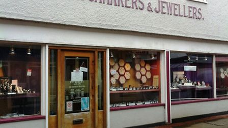 The former Fisher and Co premises, in Ely.