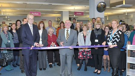 New community hub launch Whittlesey Library. Picture: Steve Williams.