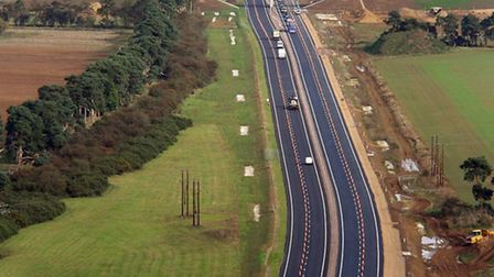 New A11 dual carriageway was opened by the Transport Secretary Patrick McLoughlin.