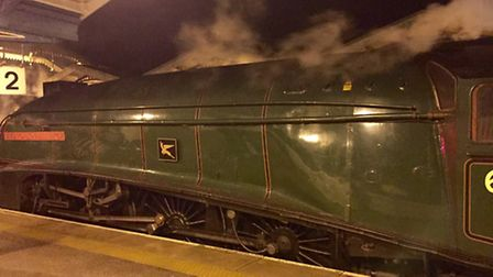 Union Of South Africa as she called at March on her way back from York. (Photo: James Bunn)