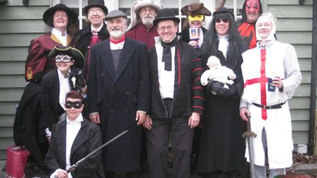 March Mummers