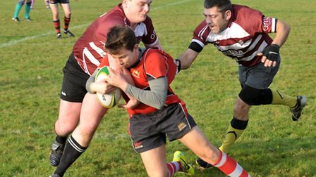 March v Wisbech Rugby. Picture: Steve Williams.