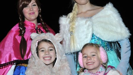 March Christmas lights switch on 2014. Picture:Steve Williams.