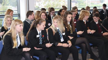 Students from Neale-Wade Academy, Thomas Clarkson Academy and Wisbech Grammar School took part in De