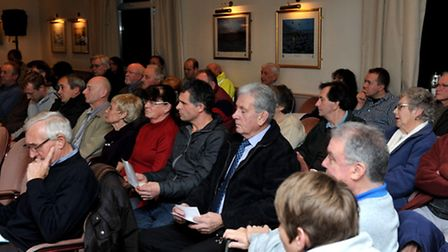 Public meeting,Proposed housing on Estover playing fields.Picture:Steve Williams.
