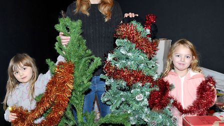 Hayley Dolbear has collected more than 150 trees they are now looking for people who want one so tha
