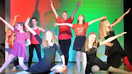 Rehearsals for winter showcase Cromwell Community College, Chatteris.Picture: Steve Williams.