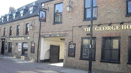 The George Hotel at Chatteris