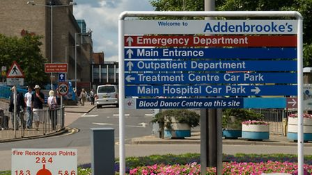 A major incident was declared at Addenbrooke's Hospital last night (Tuesday).