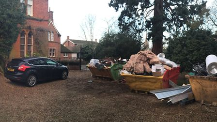 'Downton Abbey' cannabis factory. Day two of the police operation at the £1milliion Fenland mansion