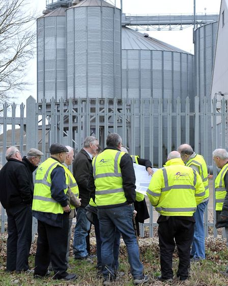 Fenland district council planning committee, Site visit. Picture: Steve Williams.