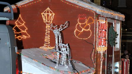 Whittlesey round table carol float and charter nights