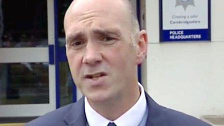 Detective Superintendent Paul Fullwood from Cambridgeshire Police.