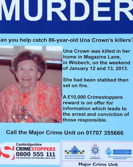 Una Crown Press conference.Wisbech. Copy of the new poster.Picture: Steve Williams.