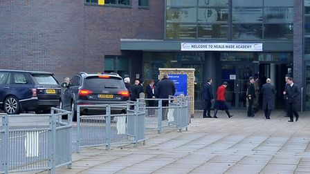 Princess Royal visit to Neale Wade Academy. Picture: Steve Williams,