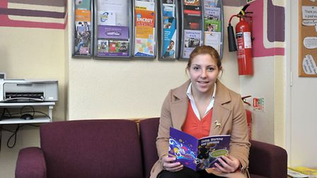 Community House, Southwell road, Wisbech.Sophie Wilkinson Mobile community officer in the reception