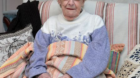 Lily Pawliszok, 84, from Gimbert close March, left without electric and heat.Picture: Steve Williams