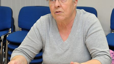 Sandra Rylance, Chair of Adult social care committee, Cambs County Council.