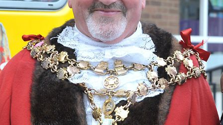 Cllr Michael Hill, the mayor of Wisbech.