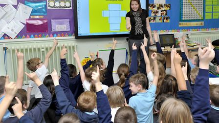 Westwood Junior School good Ofsted. Picture: Steve Williams.