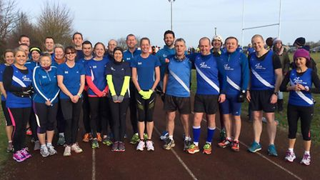 The March AC team before the race.