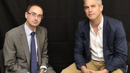 MP Steve Barclay with Tescos corporate affairs manager Adam Williams last October: Tesco promised th