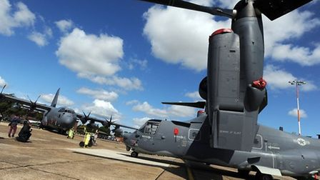 RAF Mildenhall is set to close, the US government announced on Thursday.
