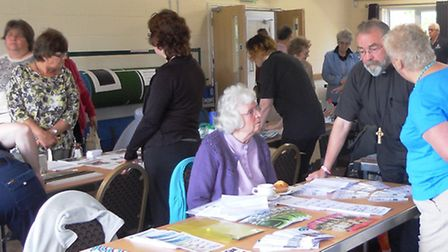 People receive a wealth of information at Golden Age events.