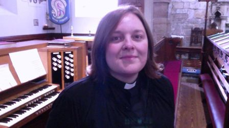 The Revd Dr Vicky Johnson, who is to take up the post of Canon Residentiary at Ely Cathedral