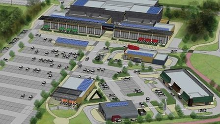 How the new leisure village and cinema development could look