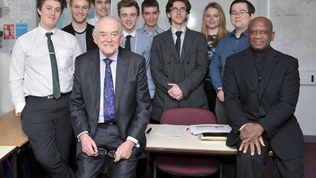Lord Balfe to talk to students about work of House of Lords.