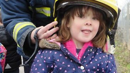 Pupils from Little Thetford Acorns enjoyed a visit from firefighters