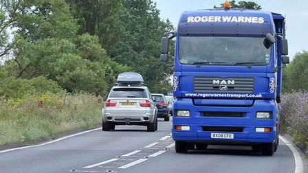 A47 Guyhirn. Picture: Steve Williams.